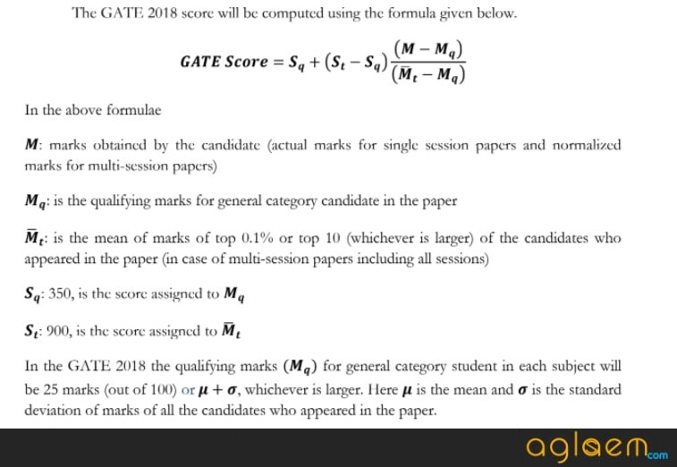 GATE 2018 Result Declared   Check here and Download GATE Scorecard