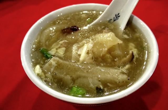 Hock Chu Leu sea cucumber soup