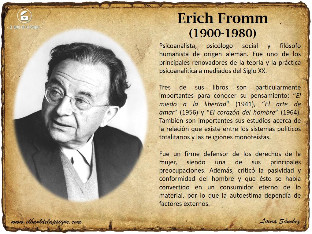 El Baúl de los Autores: Erich Fromm