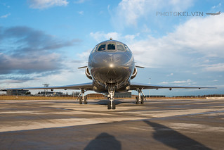 Dassault Falcon 2000 - Global Jet Luxembourg - LX-MBE | by Kelvin Jahae