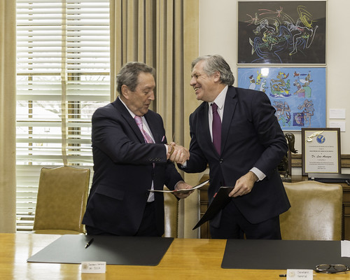 OAS and SICA Sign Cooperation Agreement on Regional Development