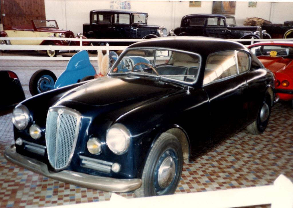 Lancia Aurelia B20 GT (1951) | Musée de L\'Automobile de Vend… | Flickr