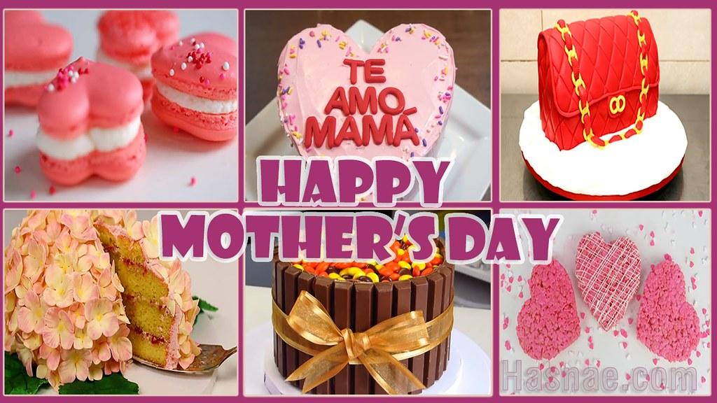 Mothers Day Cake Decoration Video أفكار ديكور كيكة Flickr