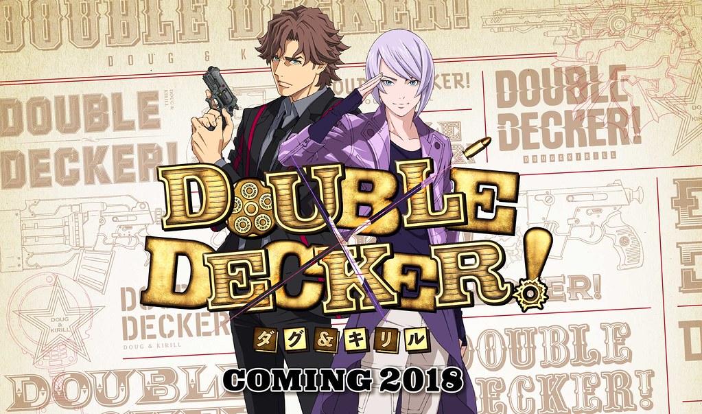 180318 - TIGER&BUNNY新系列是警察故事、電視新動畫《DOUBLE DECKER! ダグ&キリル》發表配音員&海報!