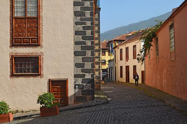 Old street, La Orotava, Tenerife
