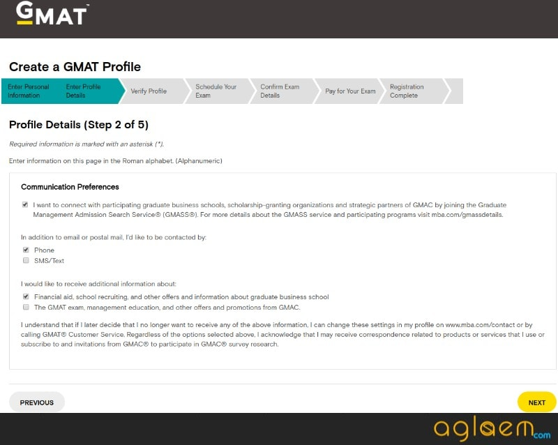 GMAT 2018 Registration Started - Application Form Available for MBA Admission  %Post Title, %Post Category, AglaSem