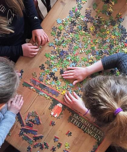 Born puslar puslespel med 500 brikker