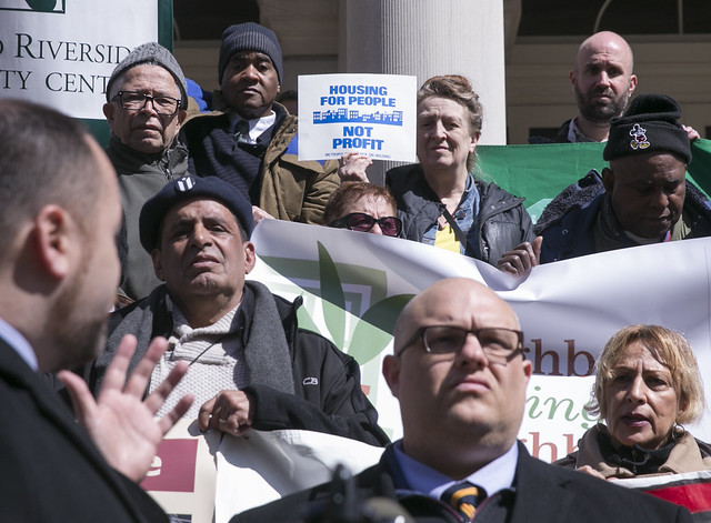 Speaker Corey Johnson Joins Advocates and Activists to Raly for Stronger  Rent Regulations--William