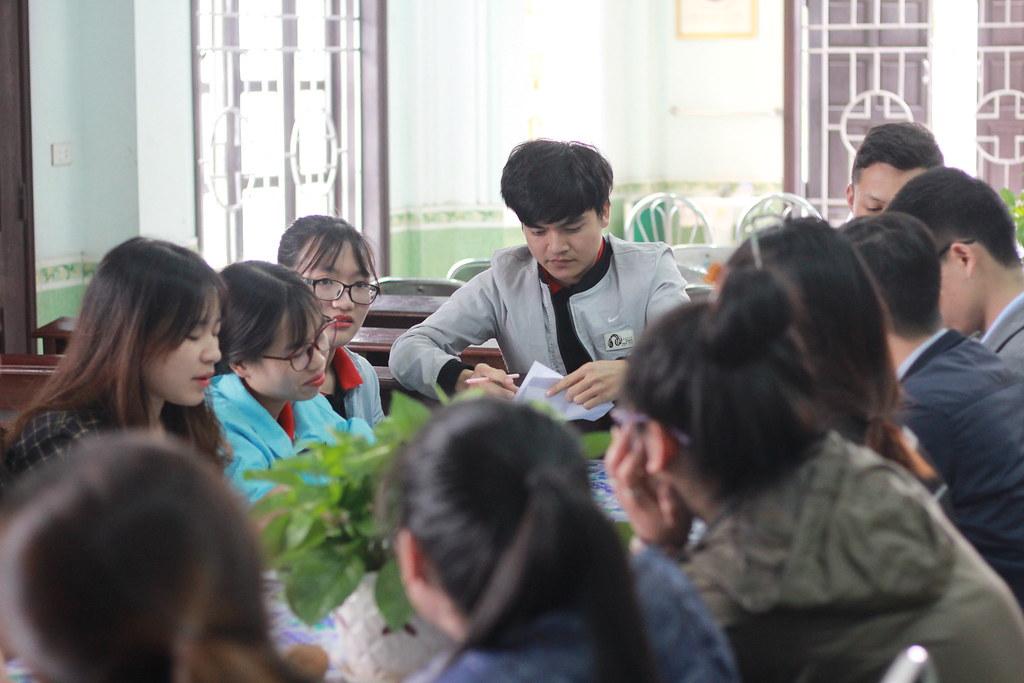 Sinh viên trong giờ thảo luận.