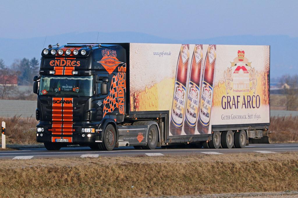 Scania R-560 / Ludwig Endres | Scania R-560 von Getränke Lud… | Flickr