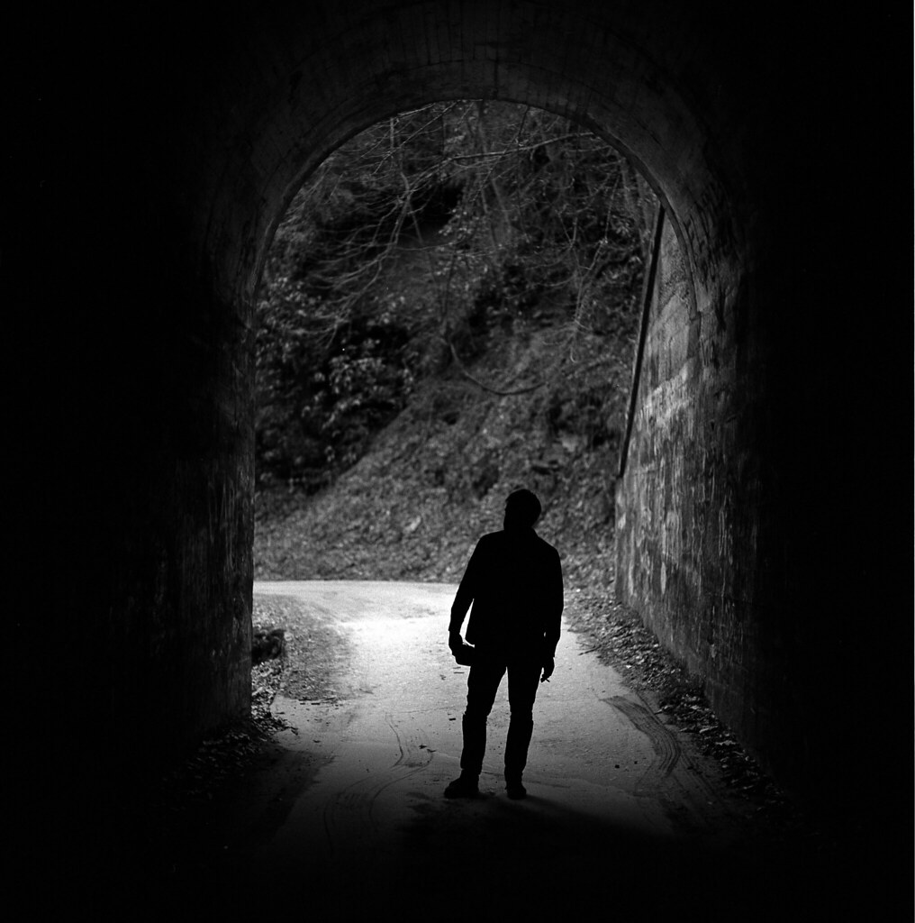 generic quote about a light at the end of a tunnel flickr