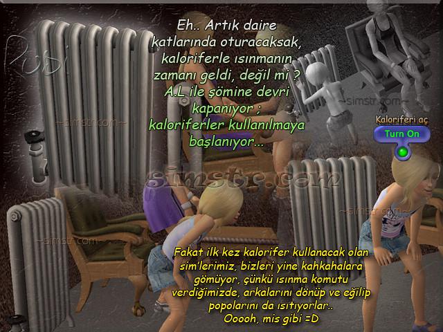 The Sims 2 Apartment Life Apartman Hayatı Radiators Kaloriferler