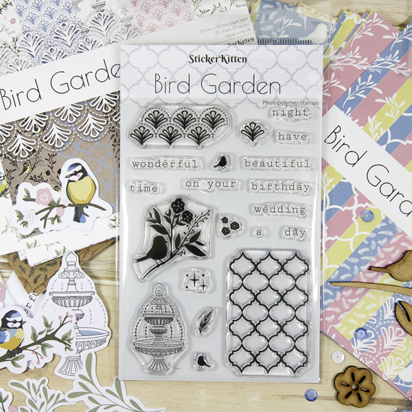 Bird Garden craft range by StickerKitten
