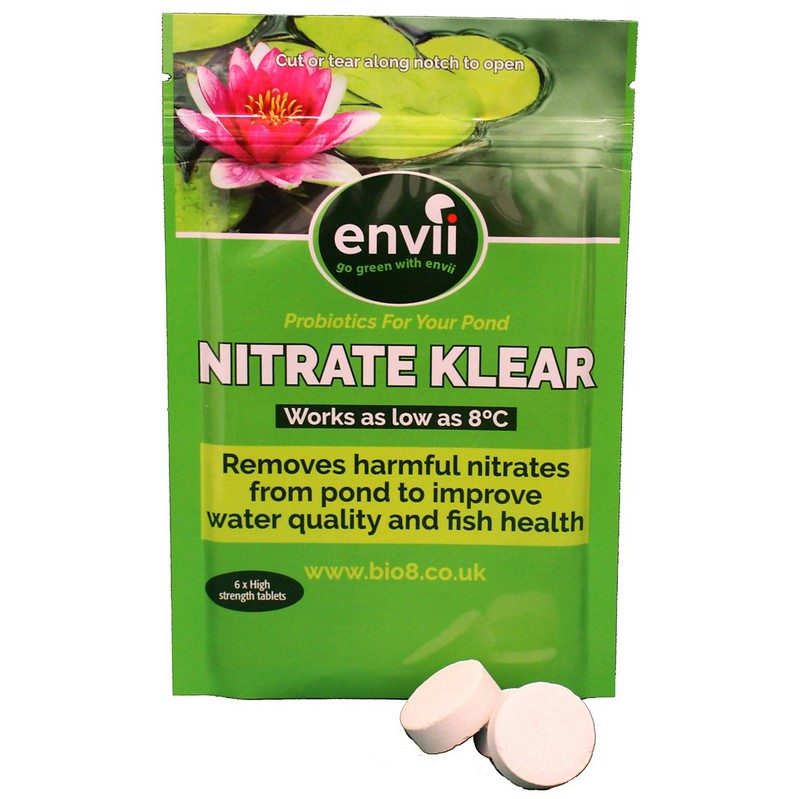 Envii nitrate klear pond aquarium nitrate remover for Oxygen tablets for fish