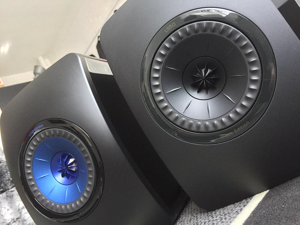 Kef Ls Wireless And Ls Black Edition Speakers David Falkner Flickr