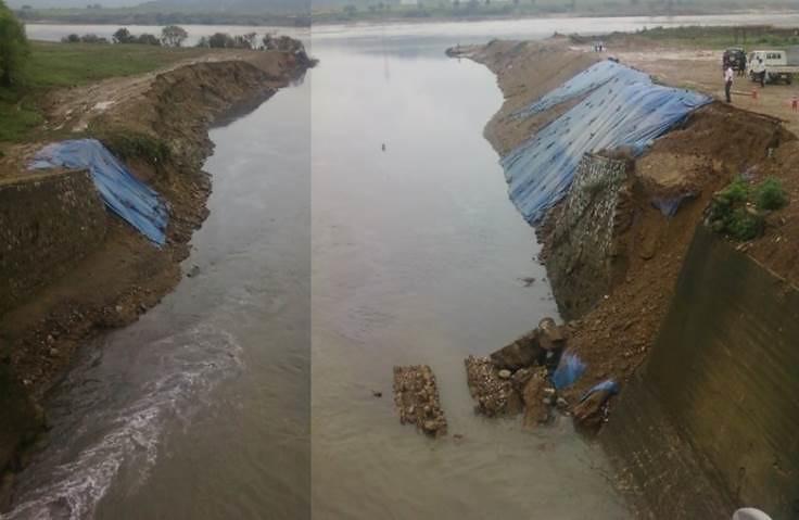 四大江工程不僅沒有解決問題,反而由於延緩水流、水位提高,反而引發上游地區更多崩塌問題。