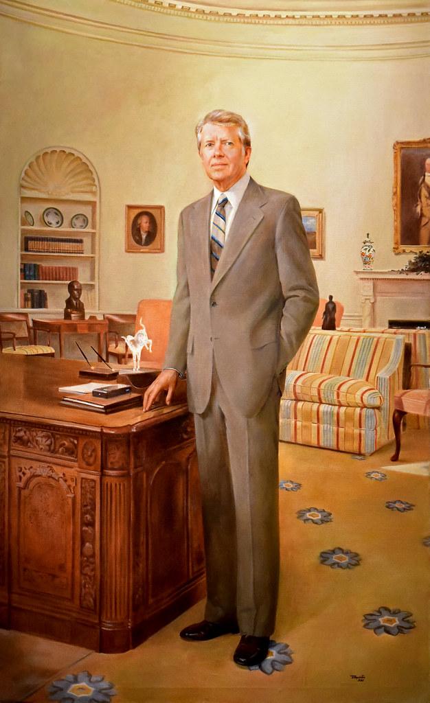 Jimmy Carter, born 1924, Thirty-ninth president, 1977-81 ...