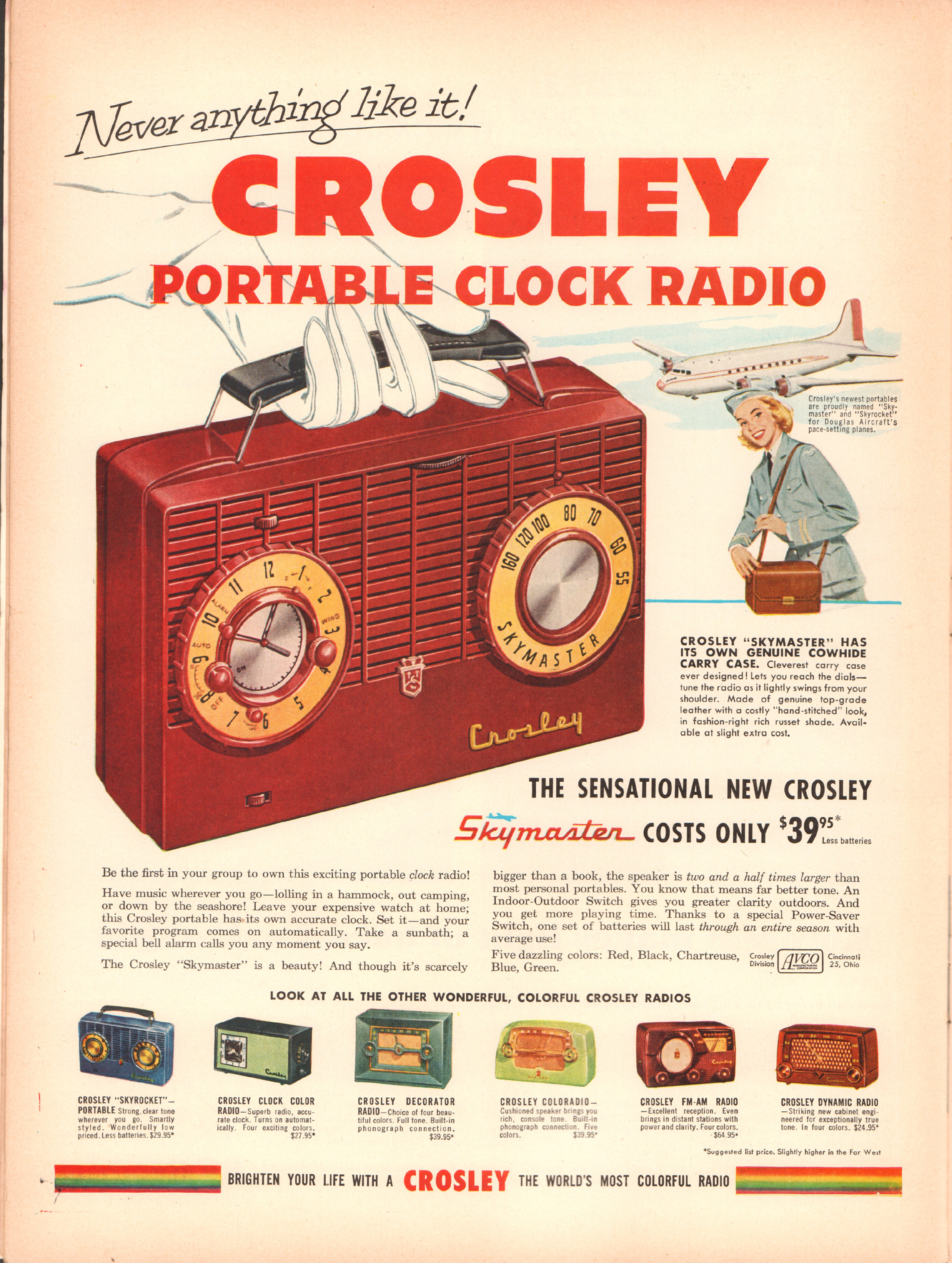 Crosley - published in Life - June 15, 1953