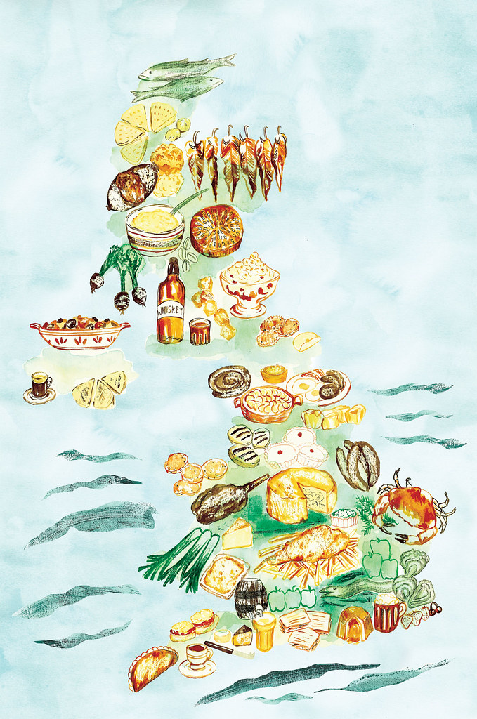 Uk Food Map Commission For Womens Health Uk Magazine All Flickr