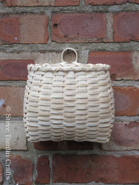 Ash splint wall basket UK