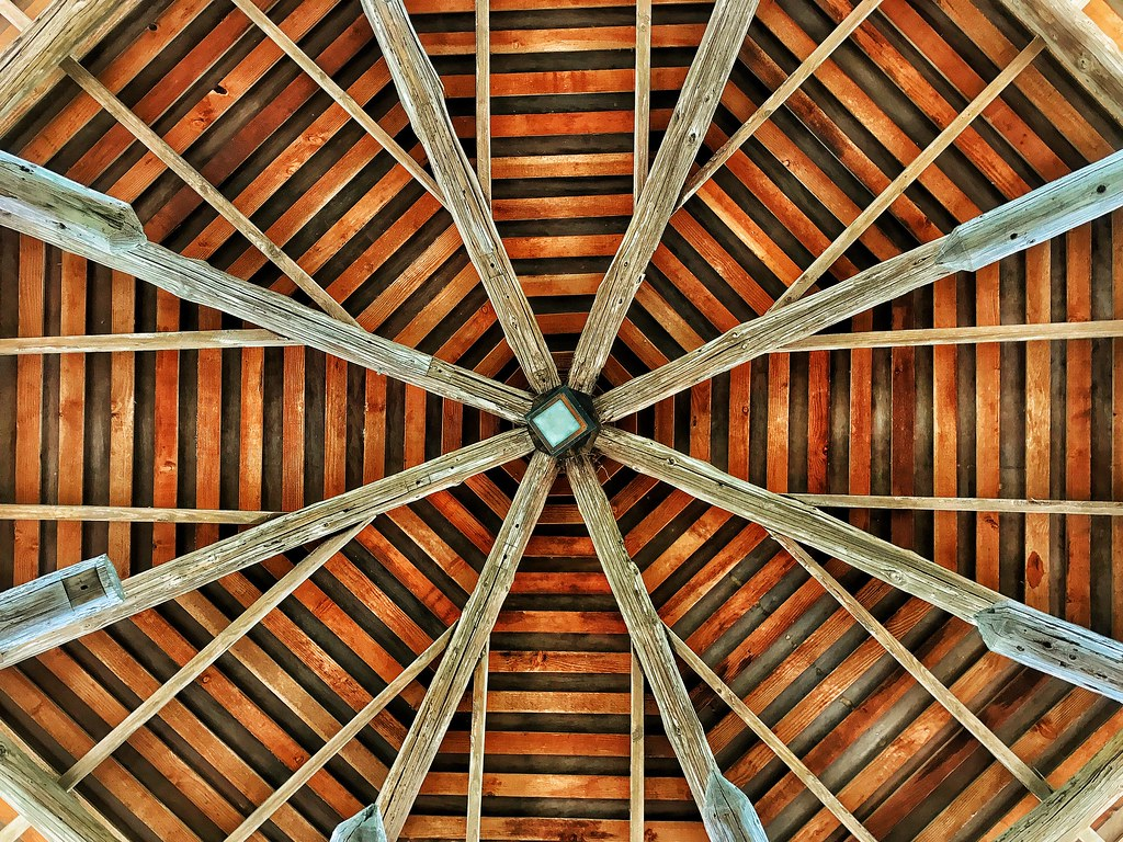 Roof of the Pavilion at the Japanese Tea Gardens in San An… | Flickr