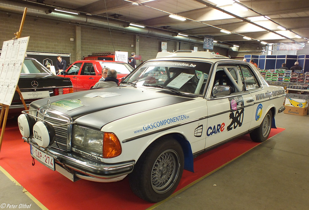 1982 Mercedes-Benz 230 CE W123 Rally-car   Antwerp Classic S…   Flickr