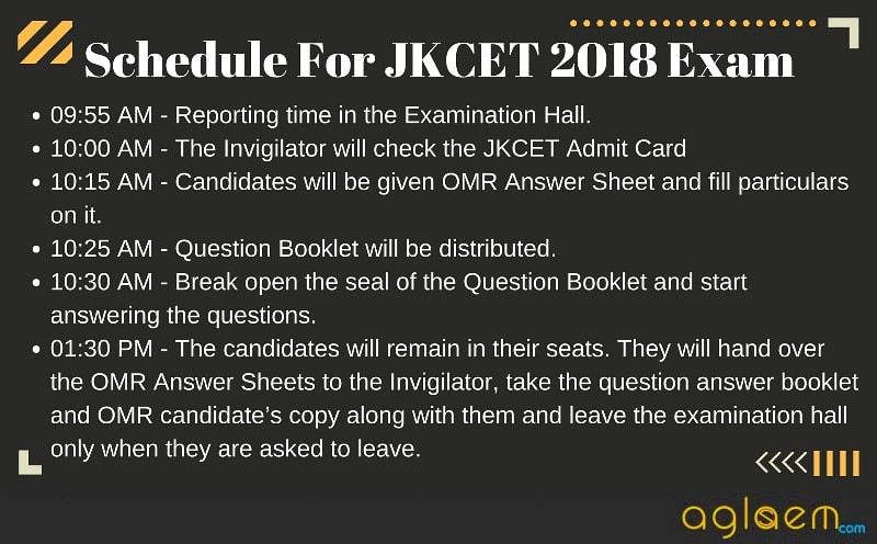 JKCET 2018 Admit Card   Released by JKBOPEE, Download Here