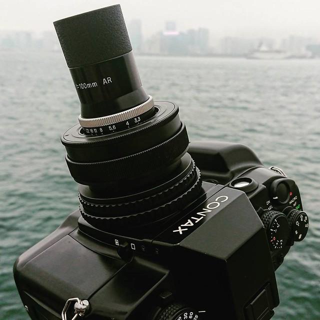 Kern Yvar 100mm f3.3 電影鏡自動對焦快拍