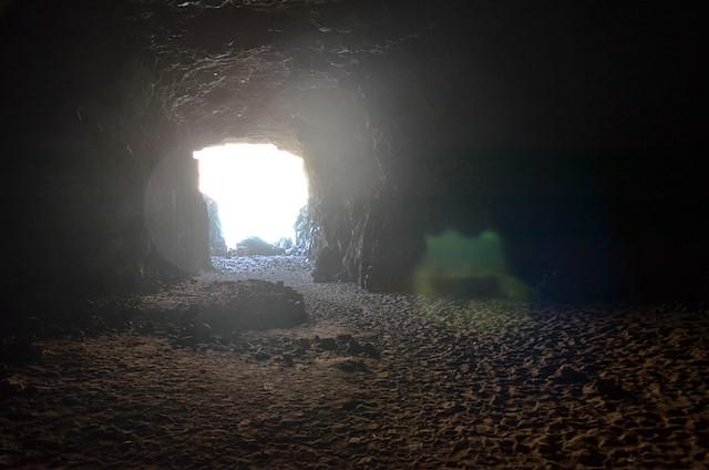 Green blob, Ajuy Caves, Fuerteventura