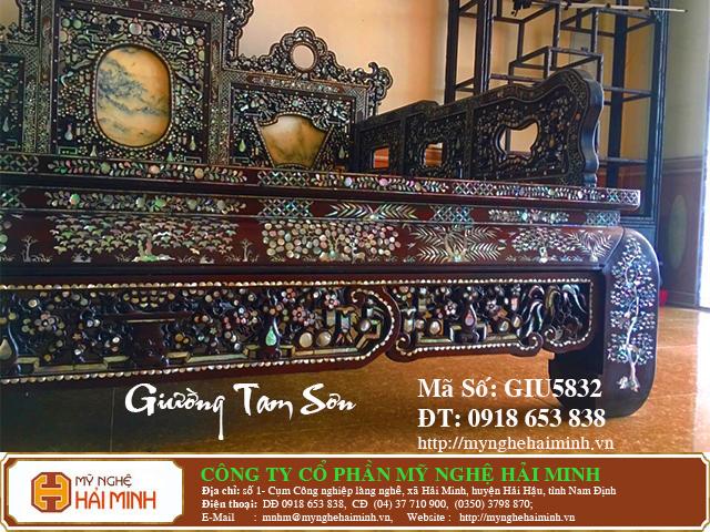 GIU5832i Giuong Tam Son Kham Oc do go my nghe hai minh