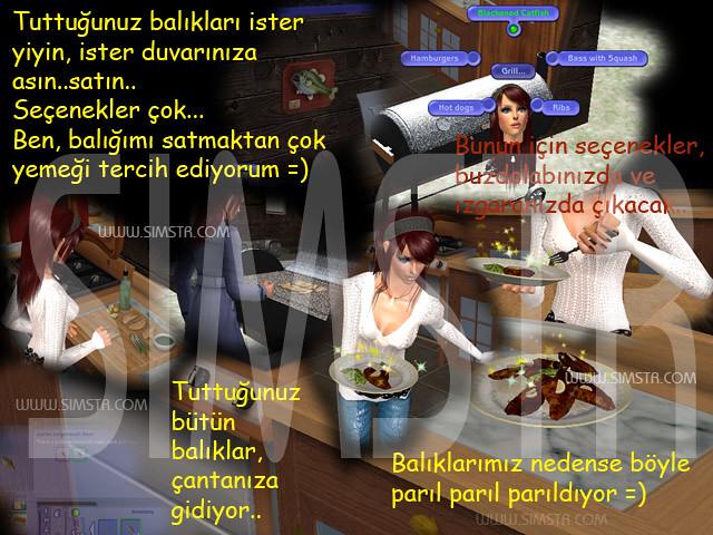 The Sims 2 Seasons Fish Grill