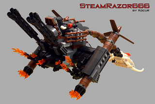 SteamRazor666 04 Back Engines Turning | by kocurvelox