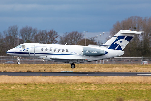 OY-JJJ Hawker Beechcraft 4000  Sun Air of Scandinavia, Maastricht Aachen Airport - EHBK/MST | by neplev1