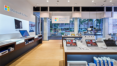The Surface Store at Harvey Norman Millenia Walk Flagship Superstore will open officially on 10 March 2018, and will offer a new Surface Concierge service where customers can get support for their Surface device, regardless of where or when it was purchased. Microsoft plans to add additional services to the Surface Concierge over time.