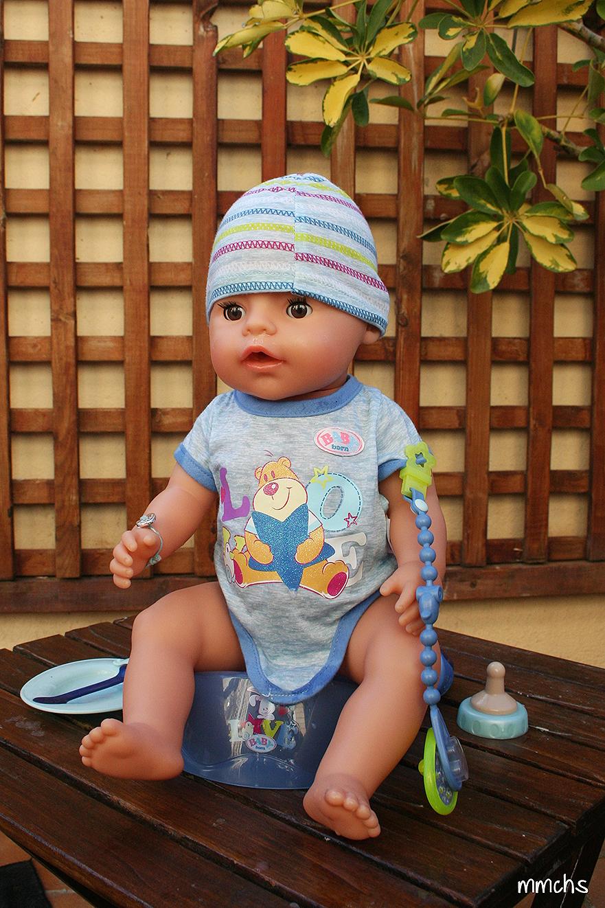 muñeco baby born chico y los complementos