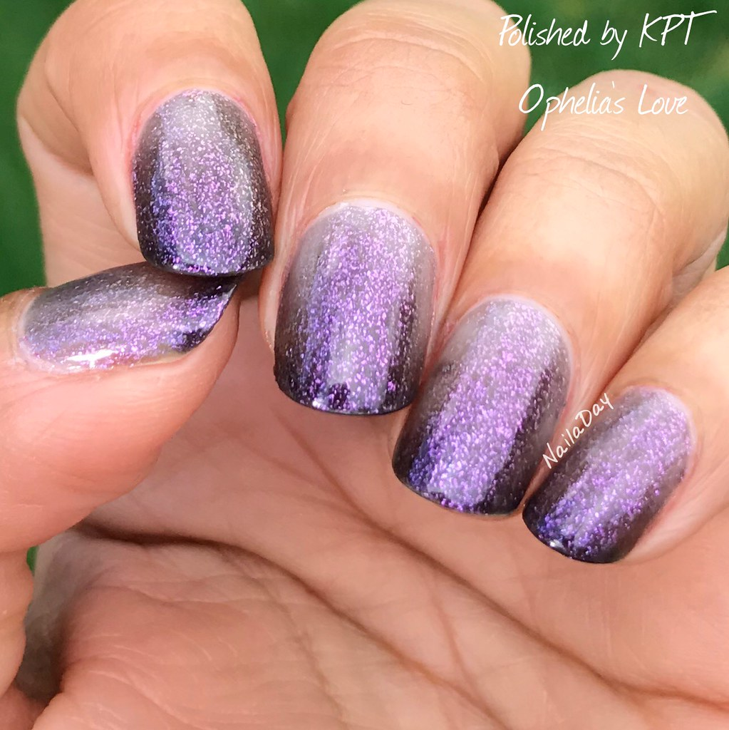 NailaDay: Polished by KPT Ophelia's Love