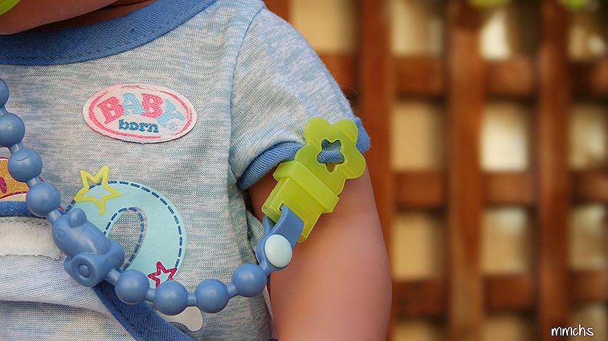 muñeco BABY born chico bandai