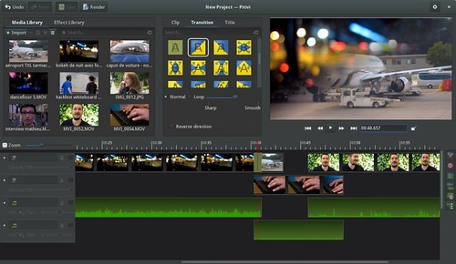 Pitivi-Video-Editor
