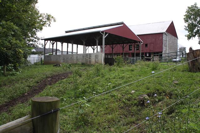 A manure storage