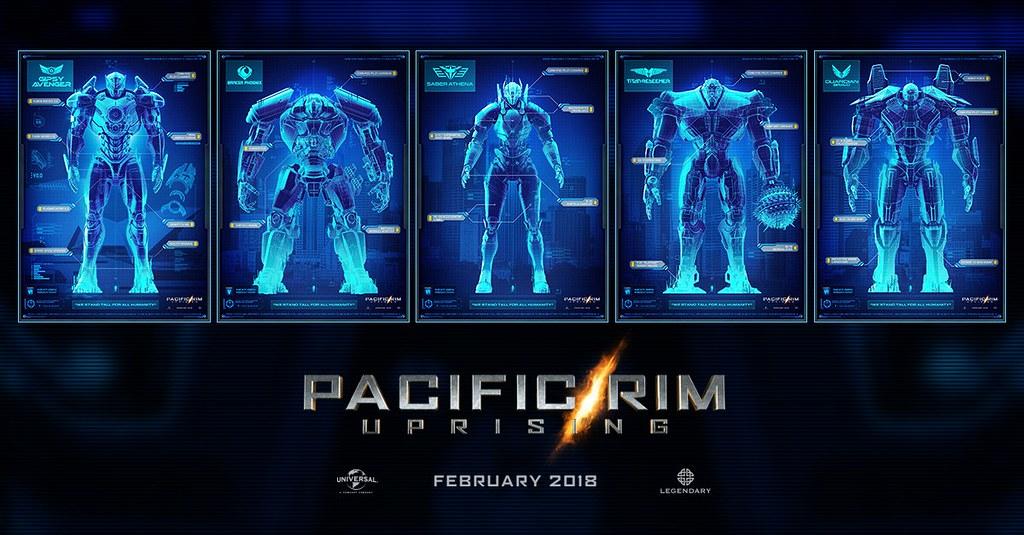 Các Robot trong phim Pacific Rim: Uprising