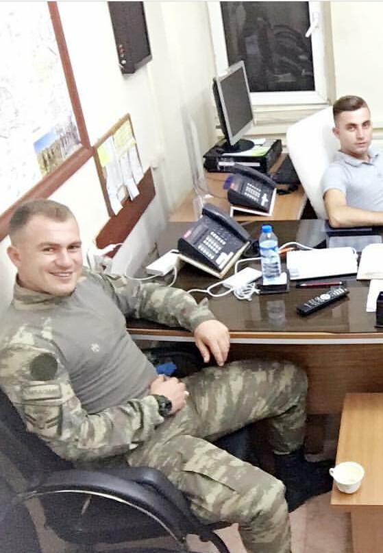Emre Turkish Man Soldier Handsome Uniform Boots Sex -8598