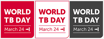 This year's World TB Day is on this Saturday - 24 March, 2018.