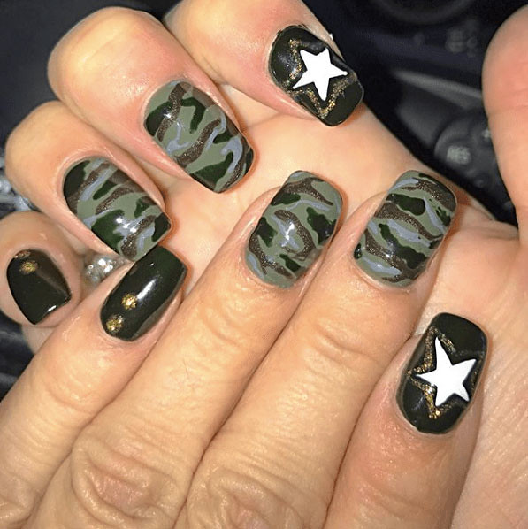 ... 22-Camouflage-Nail-Designs   by mohamedshokr49 - 22-Camouflage-Nail-Designs محمد شكر Flickr