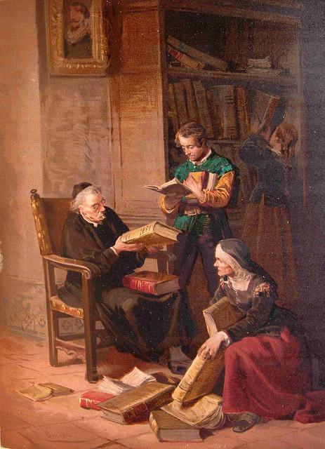 Resultado de imagen de «el Cura y el Barbero eran grandes amigos de Don Quijote.