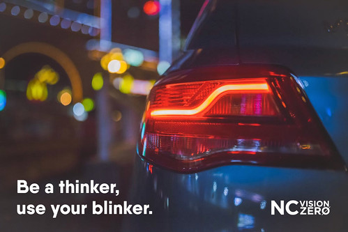 Use a blinker | by NC Vision Zero