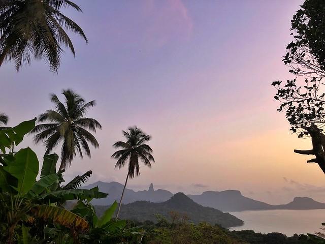Paisaje de Príncipe (Santo Tomé y Príncipe)