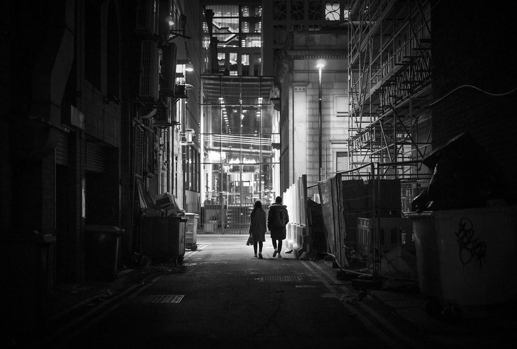 Manchester after dark