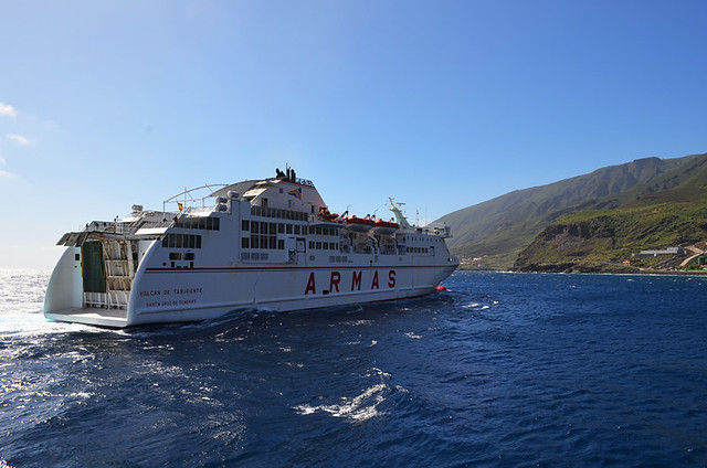 Ferry to El Hierro