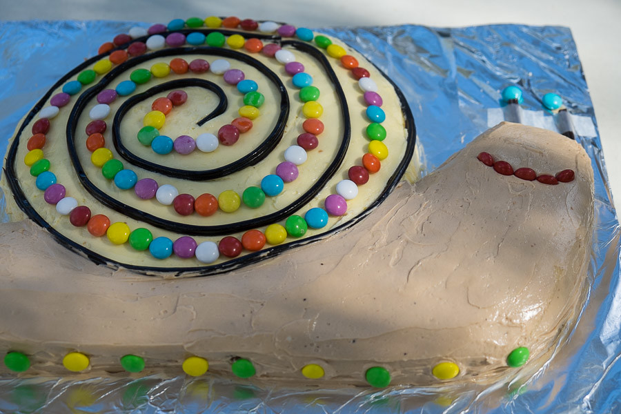 Snail Birthday Cake The Food Pornographer Flickr