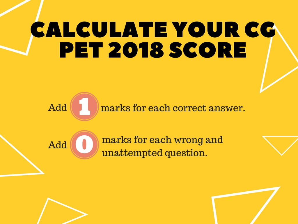 CG PET 2018 Answer Key